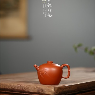 王志芳作品 巨轮竹趣