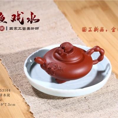 赵丽娟作品 金鱼戏水