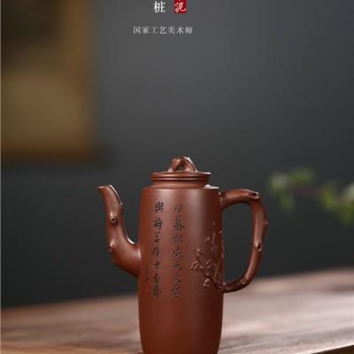 顾旭英作品 高梅桩