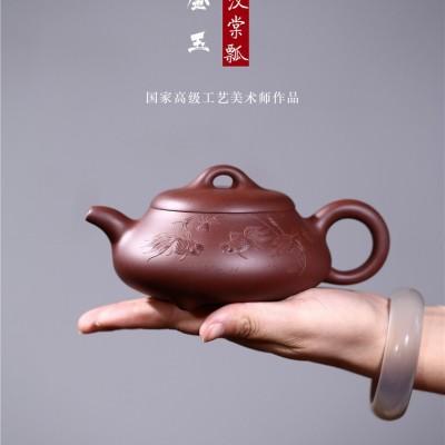吴吉作品 金玉汉棠瓢