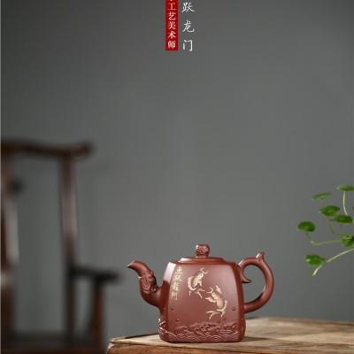 蒋春帆作品 鱼跃龙门