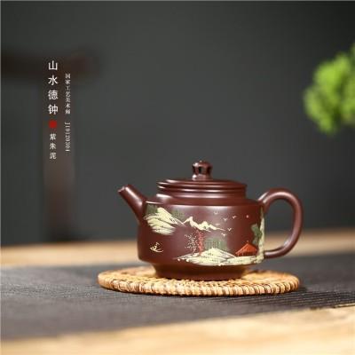 顾旭英作品 山水德钟