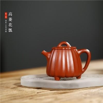 范菊英作品 高菱花石瓢