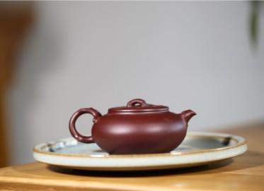 文盛紫砂壶作品 暗香壶 原矿紫泥 210CC 国家级高级工艺美术师 暗香紫砂壶价格,多少钱
