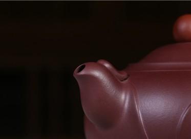 邵云琴紫砂壶作品 鸿运当头壶 原矿紫泥 410CC 国家级工艺美术师 鸿运当头紫砂壶价格,多少钱