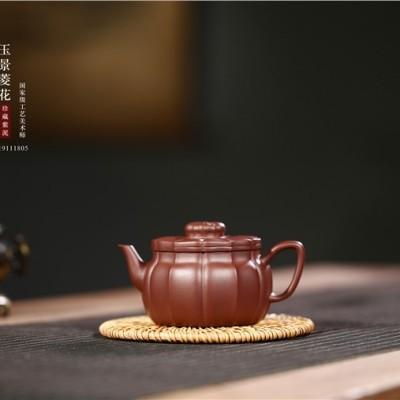 陈水仙作品 玉景菱花