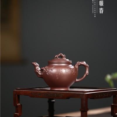 吴小楣作品 梅报春