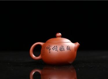 朱建伟紫砂壶作品 倾国倾城壶 原矿清水泥 310CC 研究员级高级工艺美术师 倾国倾城紫砂壶价格,多少钱