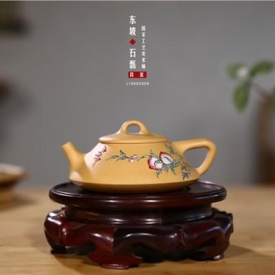 范菊英作品 东坡石瓢