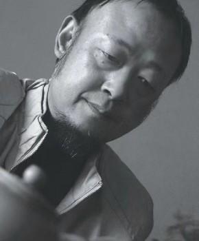 紫砂壶工艺师郭超钢名家照片
