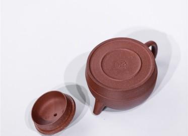 范双元紫砂壶作品 原矿降坡泥线韵壶 225CC 国家级工艺美术师 范双元紫砂壶价格,多少钱