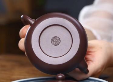 范文杰紫砂壶作品 原矿紫泥君德壶 230CC 国家级工艺美术师 范文杰紫砂壶价格,多少钱