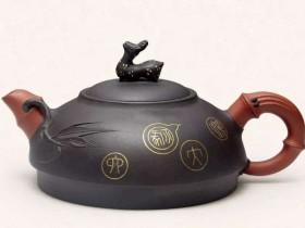 """紫砂壶""""嵌金银""""是如何嵌进壶表的"""