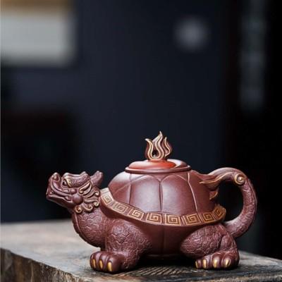 莫顺仙作品 太极龙龟