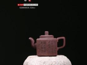 紫砂鉴赏丨吴小楣·直六方壶