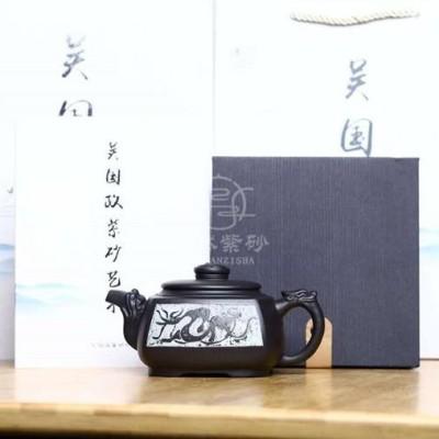 吴国政作品 四方游龙
