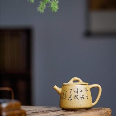 胡丽琴作品 竹节高石瓢