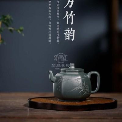 钱明华作品 六方韵竹