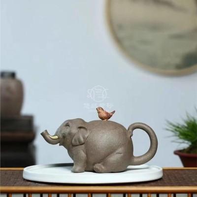 徐海龙作品 大象壶