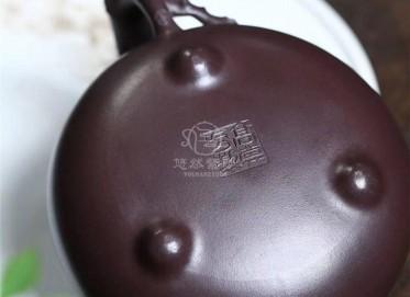 高其方紫砂壶作品|紫茄泥梅竹双清壶480CC纯手工正品怎么样