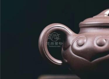 牟锦芬紫砂壶作品|天青泥仿古如意壶300CC手工正品怎么样