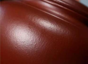 杨鹏紫砂壶作品 石红料笑樱壶320CC纯手工真品价位