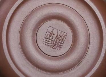 牟锦芬紫砂壶作品|原矿紫泥富贵如意壶380CC手制正品价格表