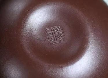 许华芳紫砂壶作品 原矿紫泥福禄壶440CC纯手工正品价格