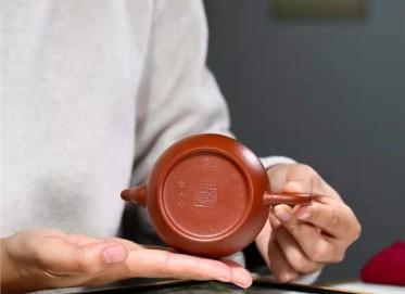 杨鹏紫砂壶作品 小煤窑朱泥秋水壶200CC手制真品价格表