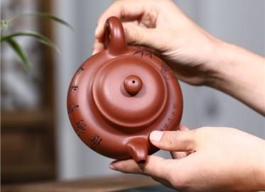 史宗娟紫砂壶作品|原矿清水泥掇只壶320CC手制真品价格表