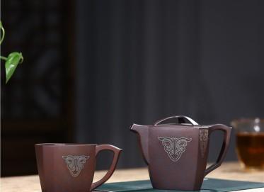 范君浩紫砂壶作品 原矿龙血砂包罗万象壶300CC手工正品怎么样