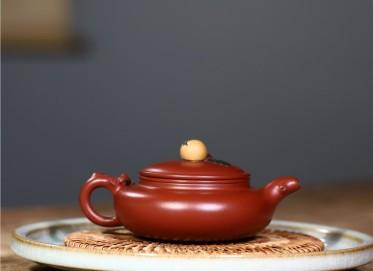 史宗娟紫砂壶作品|原矿大红袍枇杷壶150CC纯手工正品怎么样