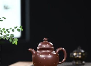 史宗娟紫砂壶作品 紫朱泥掇球壶300CC全手工正品多少钱