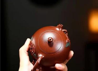 单志萍紫砂壶作品|原矿底槽清西施壶210CC纯手工正品价值
