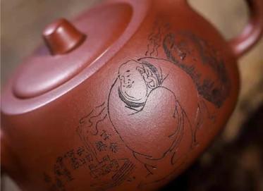 王岳龄紫砂壶作品|原矿紫泥矮井栏壶300CC手工真品价格