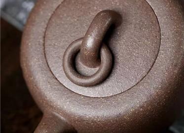 陈亚萍紫砂壶作品 五彩段泥无极壶340CC手制真品价格
