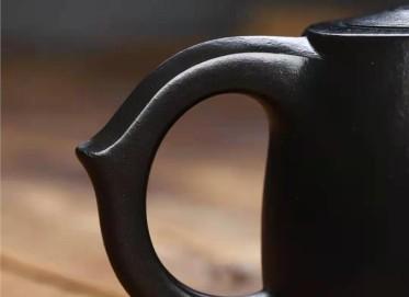 成梅英紫砂壶作品|石黄泥井栏壶260CC全手工真品价格
