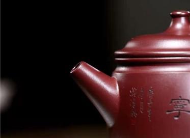 朱正琴紫砂壶作品|原矿紫泥三足鼎壶340CC手工真品价位