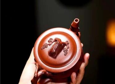 单志萍紫砂壶作品|原矿底槽清三友套组壶330CC手工正品价位