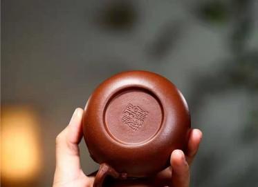 单志萍紫砂壶作品|原矿底槽清文旦壶180CC手工真品价格