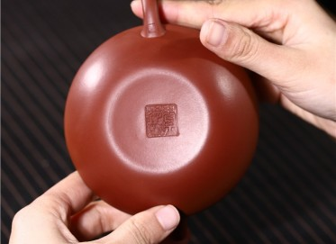 史宗娟紫砂壶作品|原矿清水泥锦上添花壶210CC全手工正品价值