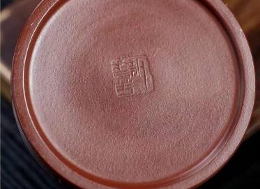 许华芳紫砂壶作品|原矿底槽清玉如意壶320CC手工正品行情