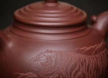 高俊紫砂壶作品|原矿底槽清香融壶500CC全手工正品价格表