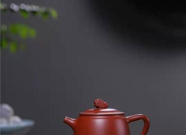 韩惠琴紫砂壶作品 原矿大红袍中石瓢壶200CC手制真品怎么样