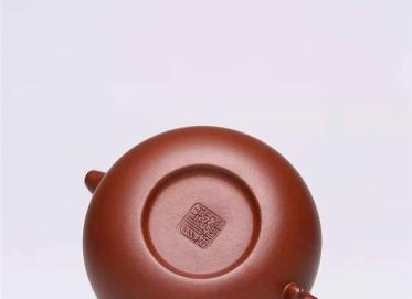 杨慧英紫砂壶作品|原矿底槽清仿古壶300CC纯手工真品价格