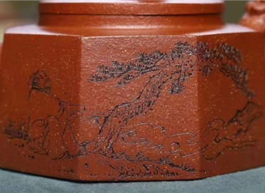 储国峰紫砂壶作品 原矿底槽清威震八方壶320CC手制正品行情