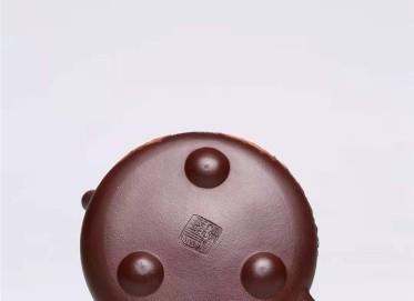 杨慧英紫砂壶作品|原矿紫泥景舟石瓢壶350CC纯手工正品多少钱