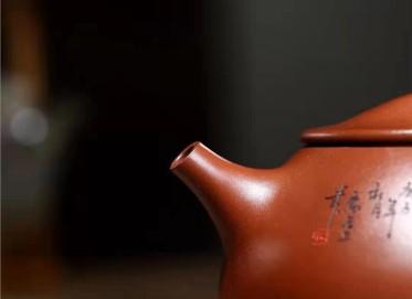 高俊紫砂壶作品 原矿底槽清景舟石瓢壶580CC全手工真品怎么样