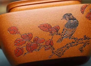 王玉芳紫砂壶作品|蟹黄段泥四方含香壶260CC纯手工正品怎么样