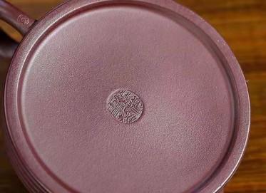 钱海霞紫砂壶作品|原矿紫泥祥云如意壶300CC手工真品价位